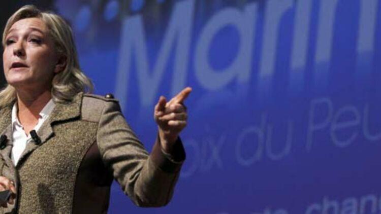 Marine Le Pen a obtenu 17,9% des suffrages exprimés au premier tour. ©REUTERS