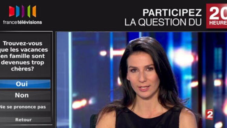 Journal interactif de 20h de France2 sur un téléviseur connecté ©LG