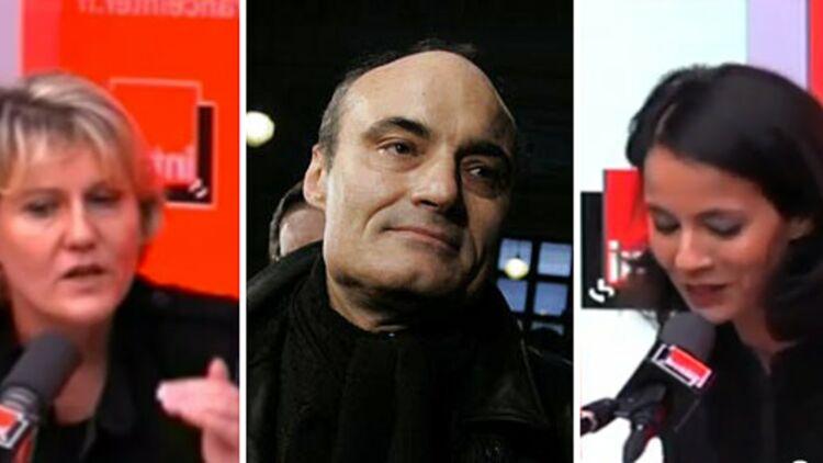Philippe Val a appelé Nadine Morano pour apaiser la polémique après la chronique de Sophia Aram sur France Inter. © REUTERS / Captures d'écrans France Inter.