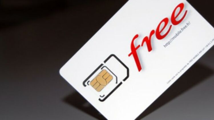 Le graal : une carte SIM Free Mobile. © Free.