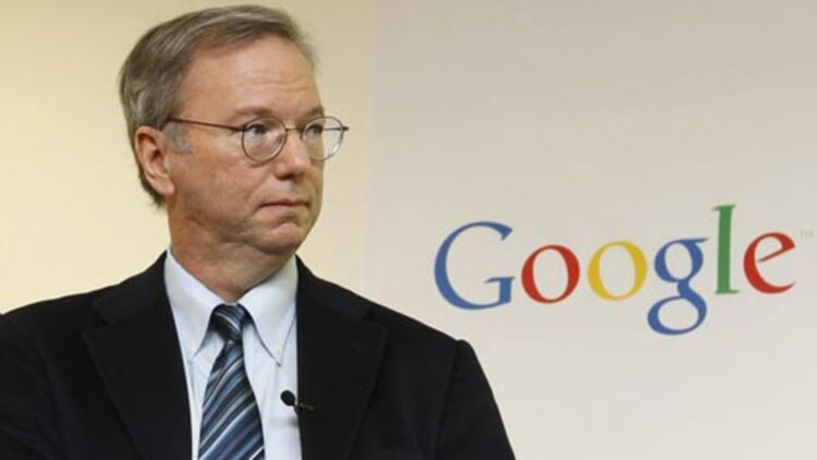 Le président exécutif et ancien PDG de de Google, à une conférence de l'entreprise à Séoul (Corée du Sud) © REUTERS