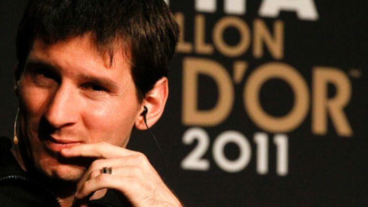 Lionel Messi élu ballon d'or pour la 3e fois le 9 janvier 2012 - ©REUTERS