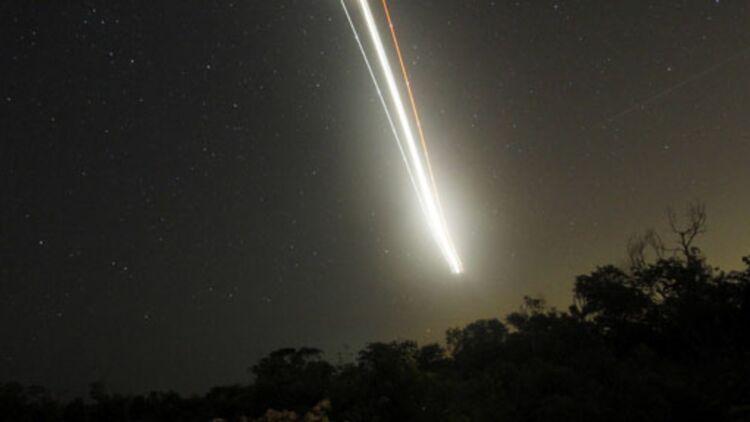 """La météorite """"Tissint"""" provient de débris issus de l'impact d'un astéroïde qui s'est écrasé sur Mars. ® REUTERS."""