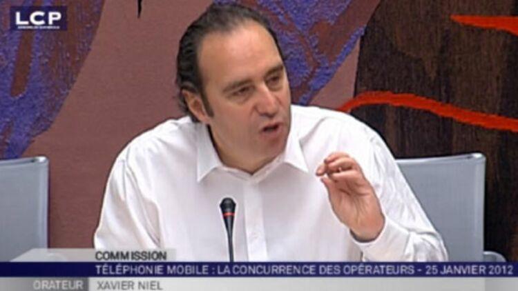Xavier Niel a justifié quelques dysfonctionnements. © Capture d'écran LCP.