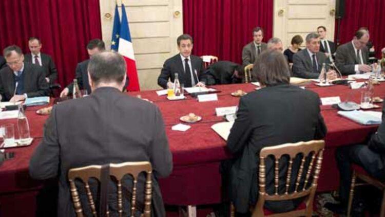 Syndicats de salariés et organisations patronales ont rendez-vous à l'Élysée mercredi 18 janvier. © REUTERS.