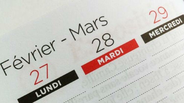 Agenda, page ouverte au 29 février 2012. © Bénédicte Lutaud