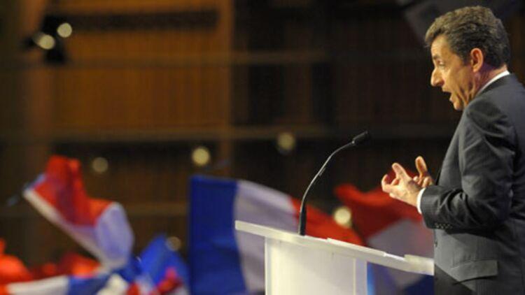 Nicolas Sarkozy a défendu ses propositions et accusé les socialistes de trahison. @Reuters