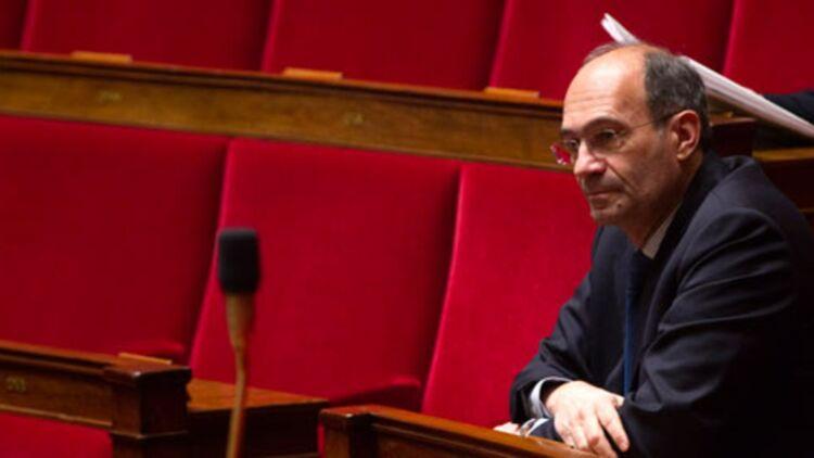 Éric Woerth à l'Assemblée nationale le 7 février 2012. © REUTERS.