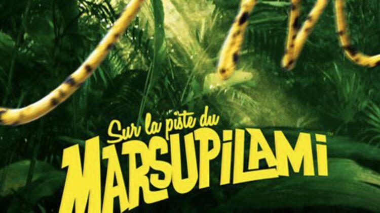 Affiche de Sur la piste du Marsupilami, d'Alain Chabat, sortie prévue pour avril 2012. © Allociné