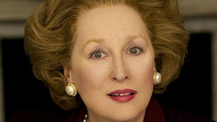 Meryl Streep incarne Margaret Thatcher dans La dame de fer, sorti en salles le 15 janvier 2012.