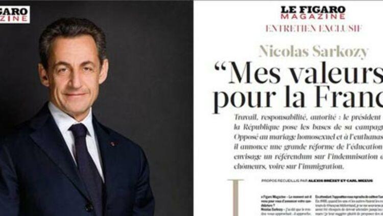 L'interview de Nicolas Sarkozy dans Le Figaro Magazine du 11 février 2012.