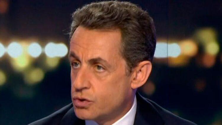 Sur France 2 mercredi soir, Nicolas Sarkozy a annoncé qu'il souhaitait revoir entièrement le dispositif de la prime pour l'emploi. © REUTERS/France 2 Television/Handout