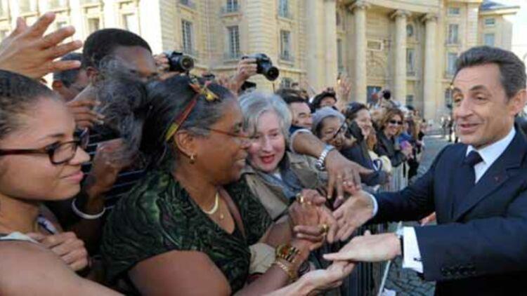 """Nicolas Sarkozy devrait centrer son premier discours de campagne sur le """"gouvernement du peuple, par le peuple et pour le peuple"""". © REUTERS."""