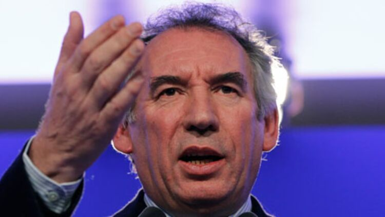 """François Bayrou a fait du """"made in France"""" le thème phare de sa campagne. © REUTERS"""
