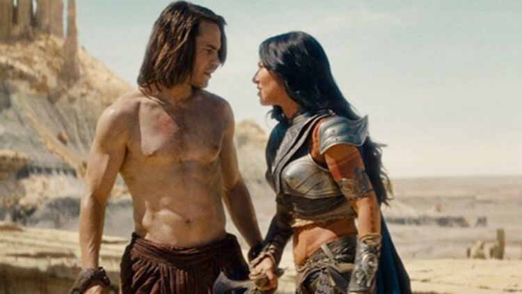 John Carter, le film qui risque de coûter 200 000 000 $ aux studios Disney. © Allociné / The Walt Disney Company France.