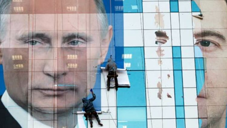 Près de 110 millions de Russes sont appelés à choisir leur président dimanche 4 mars. © REUTERS.