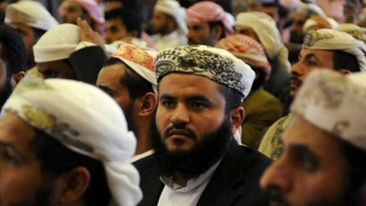 Des membres du principal mouvement salafiste du Yemen, lors d'une conférence à Sanaa, le 13 mars 2012. © REUTERS