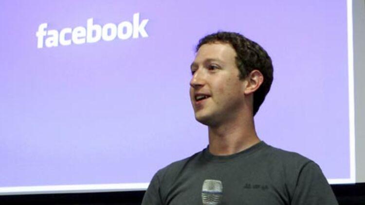 Mark Zuckerberg, fondateur de Facebook, lors d'une conférence en Californie en juillet 2011. © REUTERS