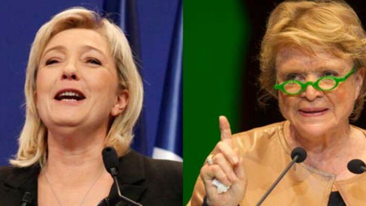 Marine Le Pen et Eva Joly ont toutes les deux apporté de petites modifications à leur nom. © REUTERS