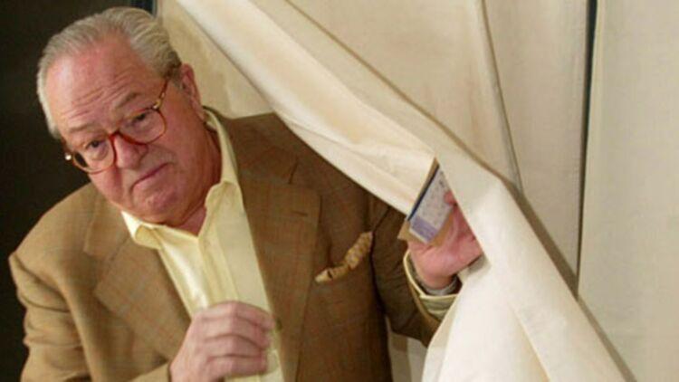 Jean-Marie Le Pen en 2002 © REUTERS