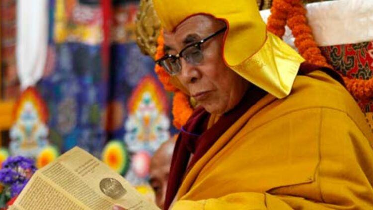 Le dalaï-lama le 7 mars 2012 à Dhamamsala, en Inde, siège du gouvernement tibétain en exil. © REUTERS