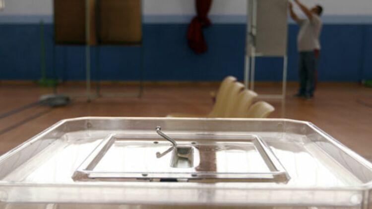 Bureau de vote à Strasbourg, le 21 avril 2012. © REUTERS