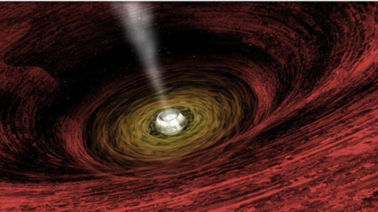 Le trou noir aspire tout ce qui passe à sa portée © Reuters