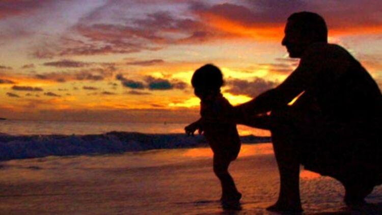 Coucher de soleil sur une plage d'Hawaï. © REUTERS
