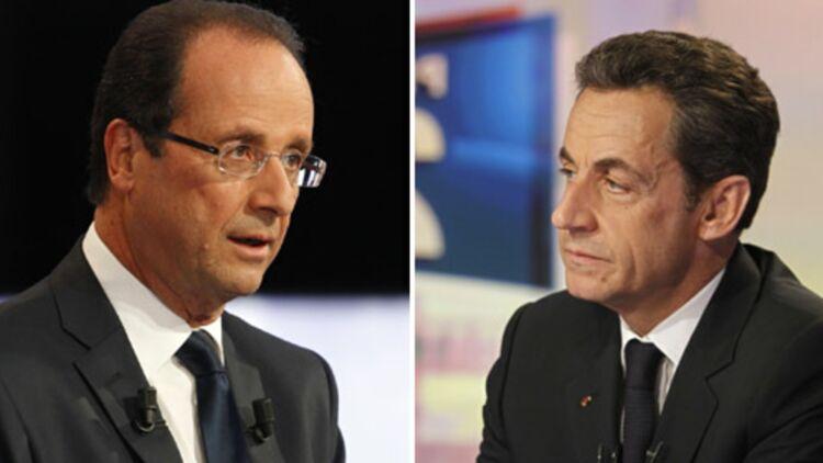 Les fautes de gouts de Nicolas Sarkozy et François Hollande peuvent être fatales lors du débat télévisé de l'entre-deux-tours. © REUTERS