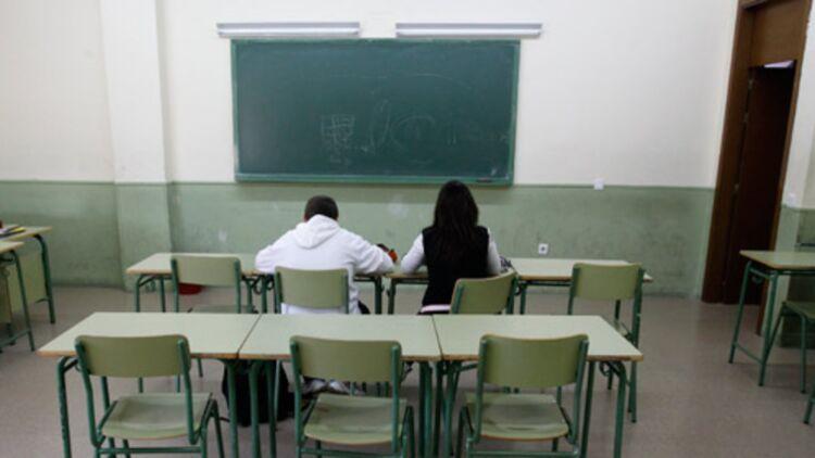 Dans le second degré, à peine 20% des professeurs absents moins de 15 jours sont remplacés. Crédits : REUTERS.