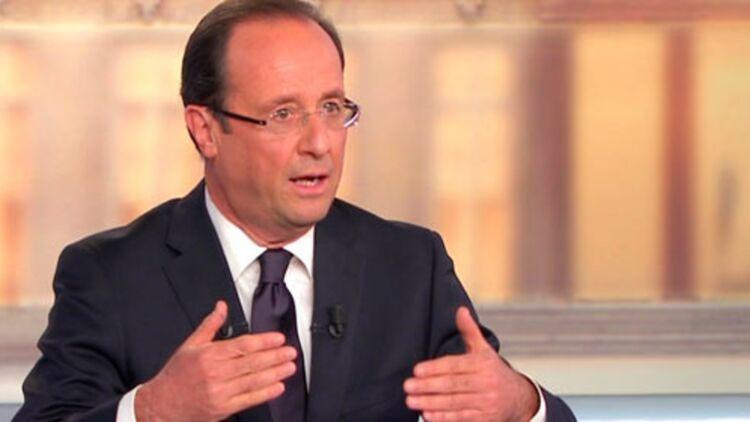 François Hollande lors du débat de l'entre-deux-tours mercredi soir. ©REUTERS