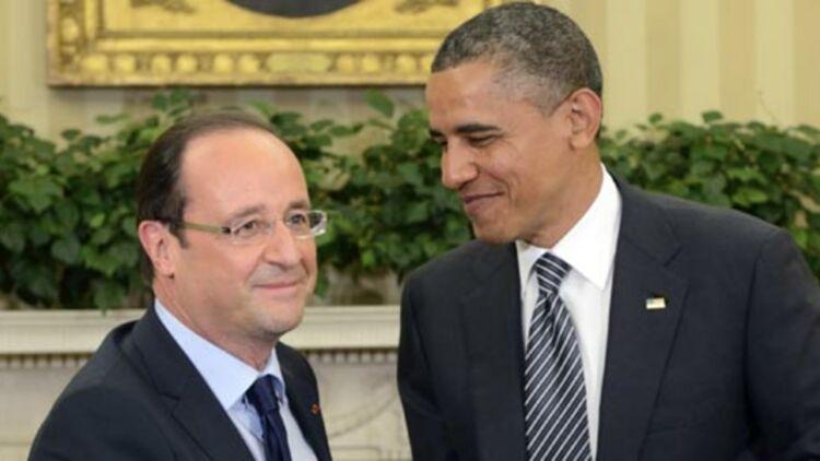 Barack Obama accueille François Hollande à la Maison Blanche, le 18 mai 2011. ©REUTERS