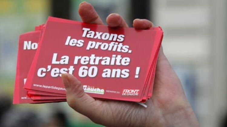 """François Hollande s'est engagé au droit à la retraite à 60 ans pour ceux qui ont commencé de travailler à 18 ans et ont 41 années de """"cotisation"""". © REUTERS"""