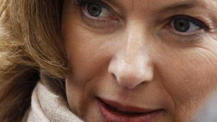 Valérie Trierweiler, la compagne de François Hollande, nouvellement élu président de la République ce dimanche 6 mai 2012. © REUTERS