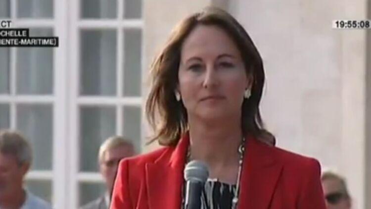 Ségolène Royal annonce sa défaite aux élections législatives. © Capture écran / France 2.