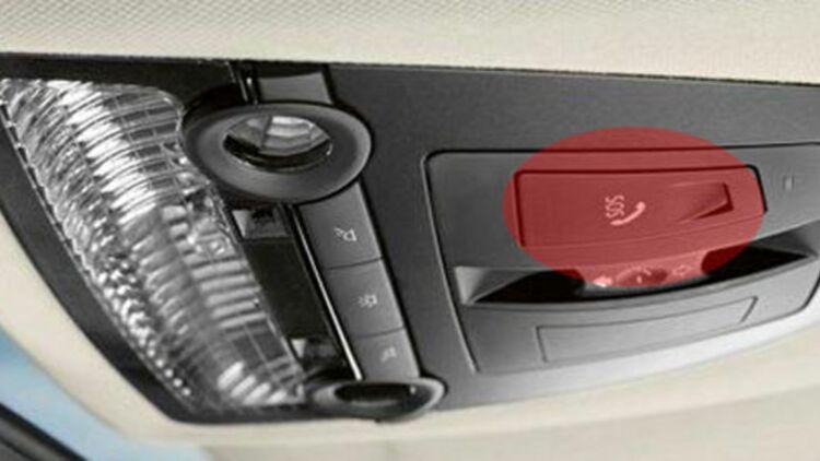 Le système d'appel d'urgence eCall devrait être intégré dans toutes les voitures neuves européennes d'ici 2015. ©BMW AG