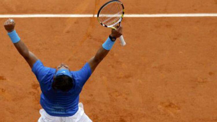 Rafael Nadal a enchaîné 31 victoires consécutives à Roland Garros entre 2005 et 2009, un record. © REUTERS.