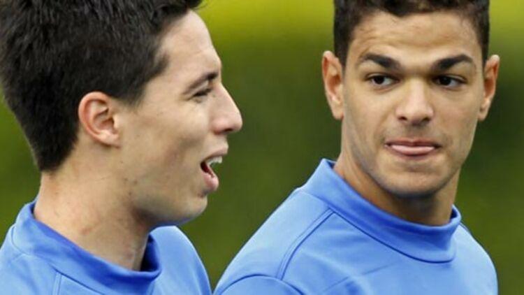 Le comportement irrespectueux des joueurs de l'Équipe de France Samir Nasri et Hatem Ben Arfa ont fait polémique pendant l'Euro 2012. © REUTERS