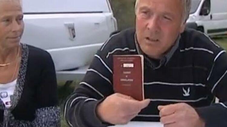 capture d'écran d'une vidéo Youtube d'un reportage sur les carnets de circulation des gens du voyage.