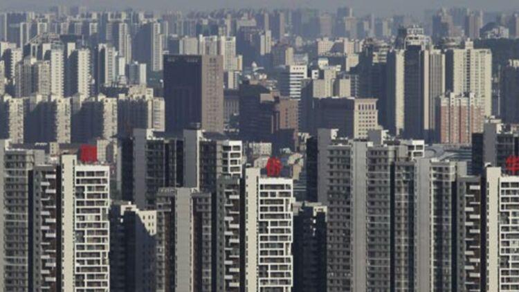 Immeubles résidentiels à Wuhan, en Chine, le 24 juillet 2012. Entre 2000 et 2030, l'espace urbain mondial aura triplé. © REUTERS