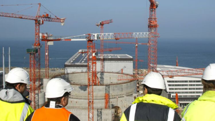 site de construction de l'EPR de Flamanville, avril 2011. © REUTERS