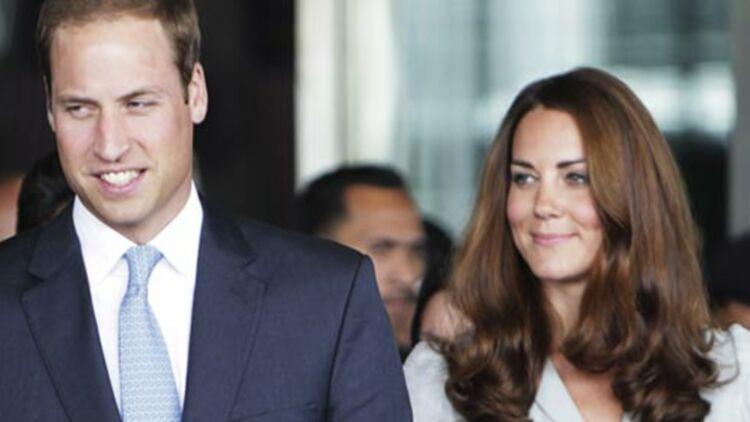 Le couple princier d'Angleterre William et Kate attendent un enfant, c'est désormais officiel. © REUTERS