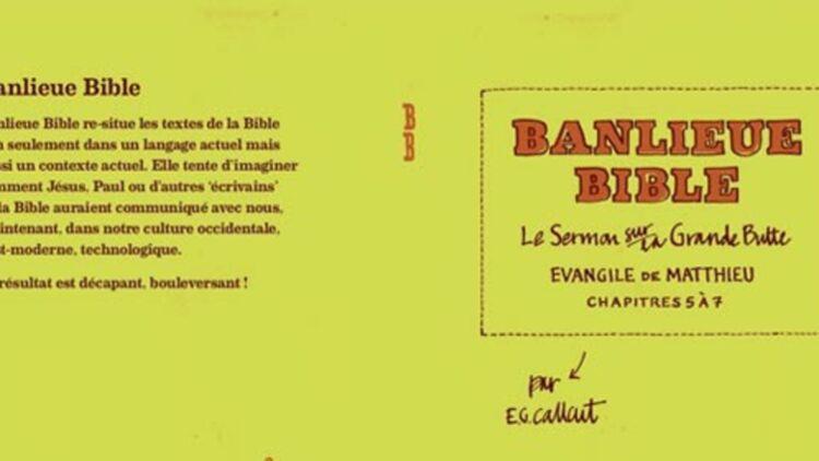 extrait de la couverture de Banlieue Bible - © Luc éditions.