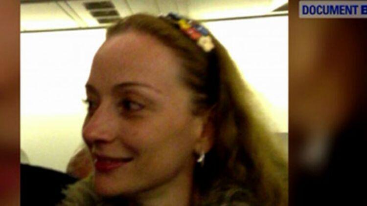 Florence Cassez à sa libération. capture d'écran d'une vidéo BFM-TV