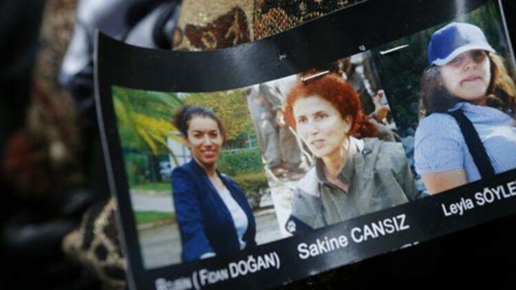 Les trois militantes du PKK assassinées le 10 janvier 2013 à Paris. © REUTERS