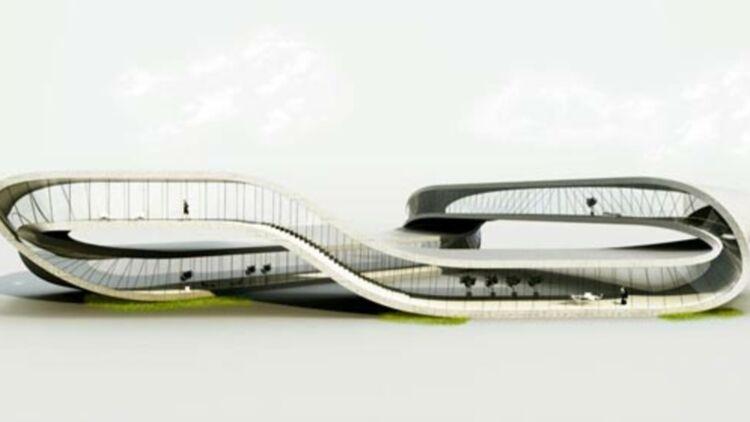 """La """"Landscape house"""", via Universe Architecture Facebook."""