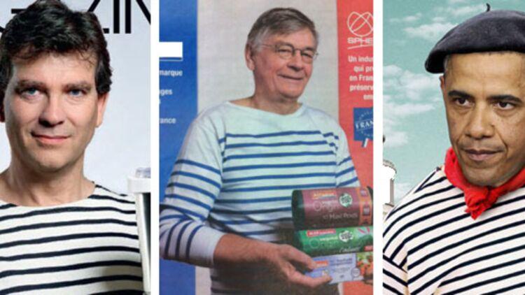 Arnaud Montebourg en couverture du Parisien Magazine le 19 octobre 2012, Publicité de Sphere lundi 7 janvier 2013, Montage avec Obama en Une de The Economist. Montage Quoi.info.