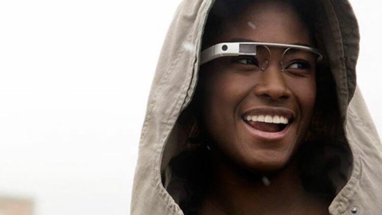 Voici à quoi ressemblent les lunettes Google. Image via www.google.com/glass