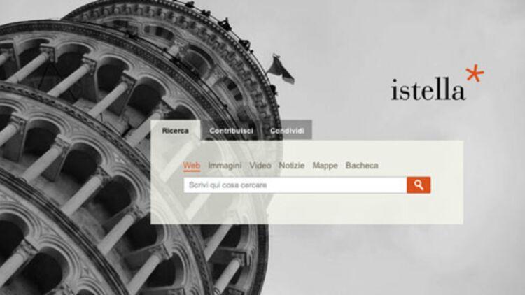 Istella.it, page d'accueil -capture d'écran-