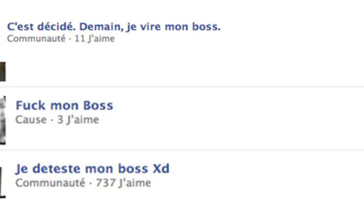 facebook - capture d'écran